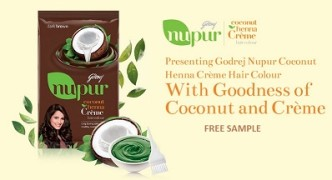 Free Godrej Hair Colour Sample Kit 2015