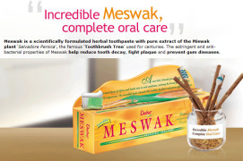 Dabur Product , Meswak ToothPaste free Sample in India